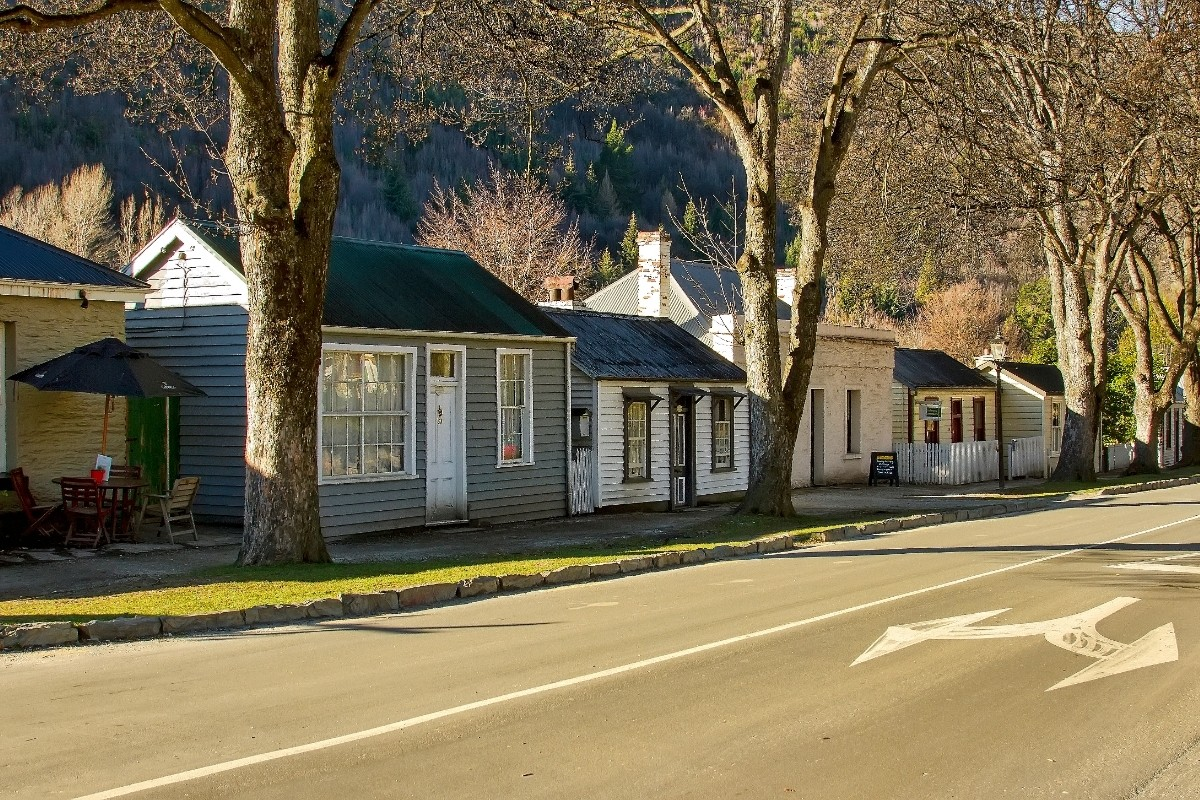 Arrowtown cottages